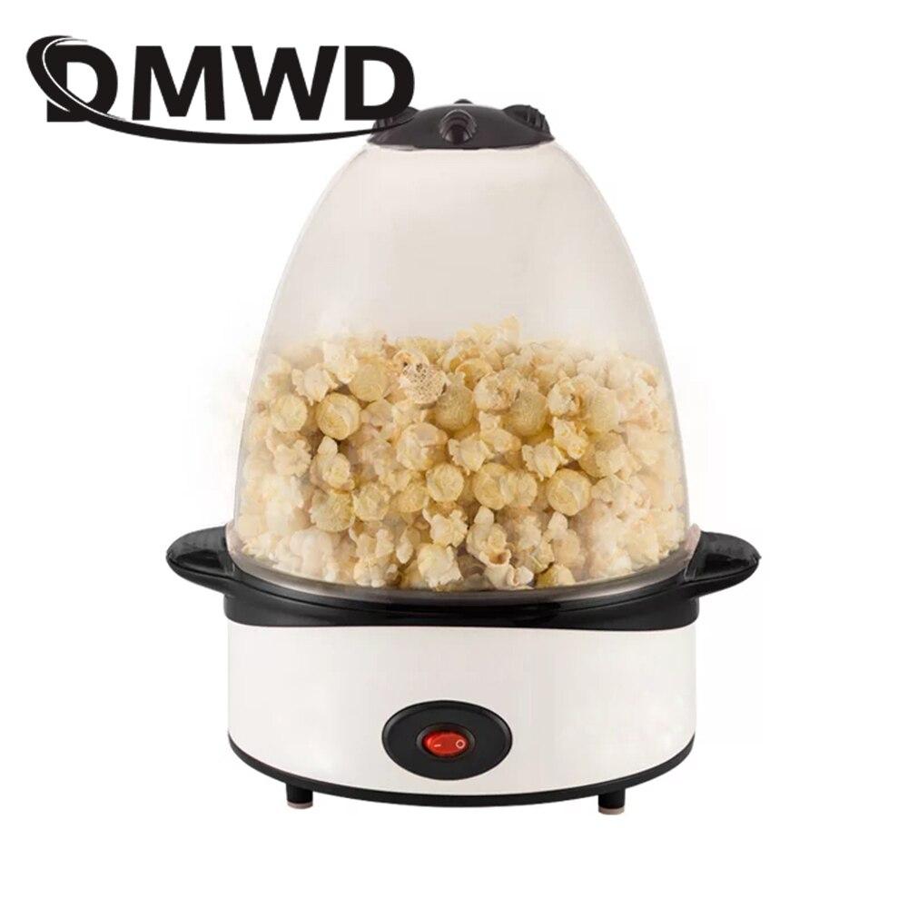 DMWD миниатюрная портативная электрическая машинка для приготовления попкорна, автоматическая мини-машинка для приготовления попкорна горя...