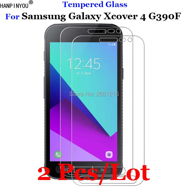 2 Pcs/Lot For Samsung Xcover4 Tempered Glass 9H 2.5D Premium Screen Pro