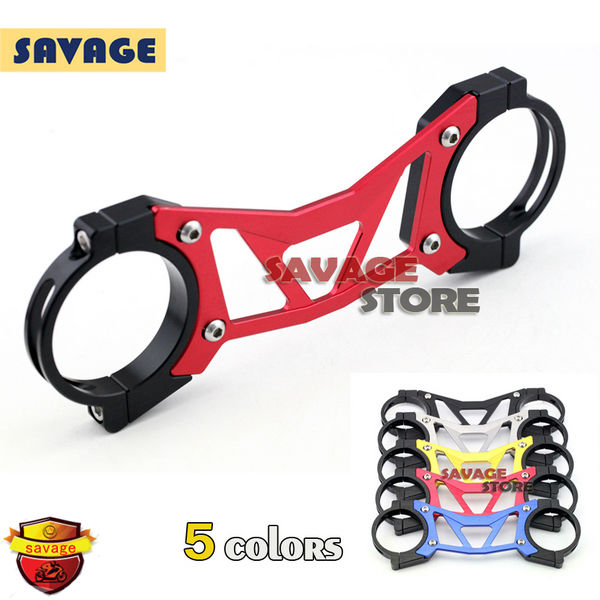 ФОТО For YAMAHA YZF R25 R3 YZF-R25 YZF-R3 Motorcycle BALANCE SHOCK FRONT FORK BRACE Red