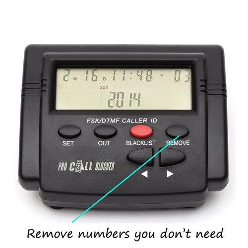 Caller id Boxes display, 1500 números de capacidade, Market : Us, uk, geman, spain, canada