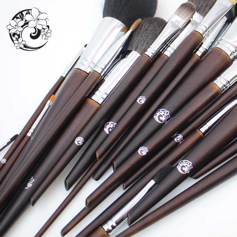 Energía marca profesional 22 piezas Maquillaje cepillo Natural conjunto de pinceles de Maquillaje + bolsa + Brochas Maquillaje Pinceaux Maquillage tm1 - 5