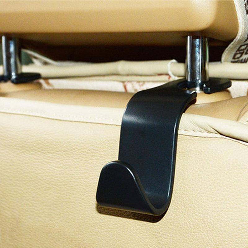 Gsfy Wholesale Convenient Double Vehicle Hangers Auto Car Seat Headrest Bag Hook Holder New Home Improvement Robe Hooks