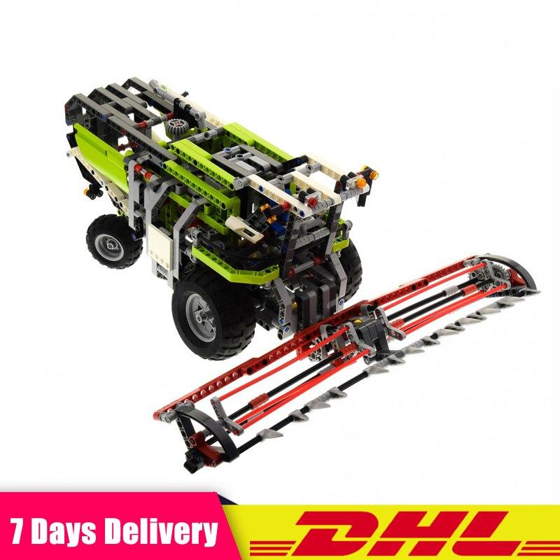 LEPIN 20041 1107Pcs Technic The Combine Harvester Set Compatible LegoINGlys 8274 Educational Building Blocks Bricks Toys Model цена