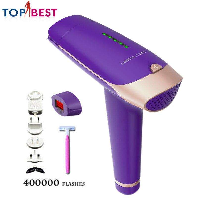 Máquina de Depilação a laser ABS 300000 Rejuvenescimento Da Pele da Remoção Do Cabelo e 100000 Pulsos Pulsos Para Facial Corpo Axilas Axila