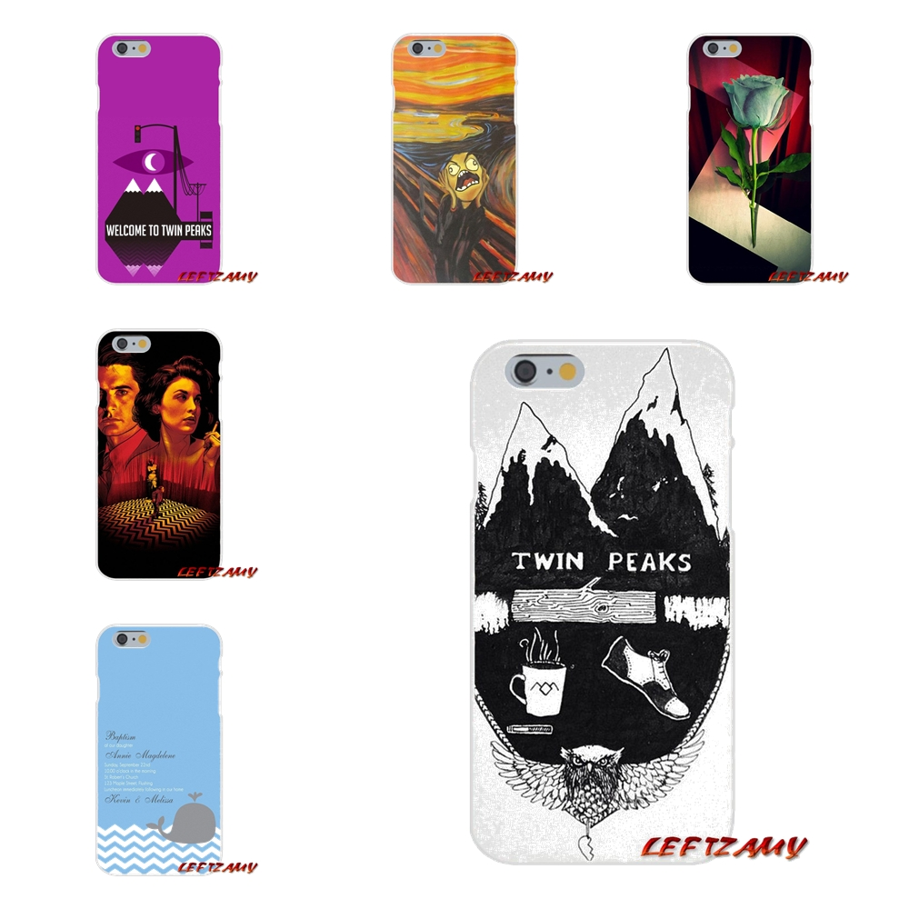 For iPhone X 4 4S 5 5S 5C SE 6 6S 7 8 Plus Accessories Phone Shell Covers Welcome Twin Peaks