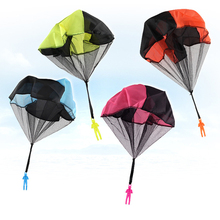 Mini Parachute Toy Hand Throwing Soldier Paratrooper Style Toys Outdoor Sports Children Educational Chrismas Gift