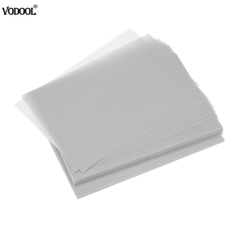 VODOOL 15x10cm/5.9 x 3.94 200pcs/pack Tracing Paper Transfer Paper Graphic Design Copy Paper Transfer Printing Drawing
