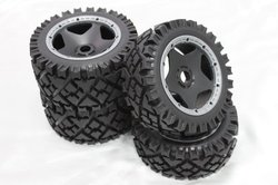 1/5 baja 5B All Terrain Tyres / all terrain tires 4pcs/set for hpi km rv baja 5b ss