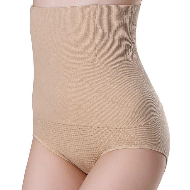 Nahtlose Frauen Shapers Hohe Taille Abnehmen Bauch-steuer Knickers Hosen Pantie Briefs Magie Körper Shapewear Dame Korsett Unterwäsche