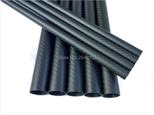 1200mm*36*40mm glossy matt 3K Carbon Fiber Wrapped Tube for DIY Quadcopter Tail Hexacopter Octacopter Shaft Drone arm