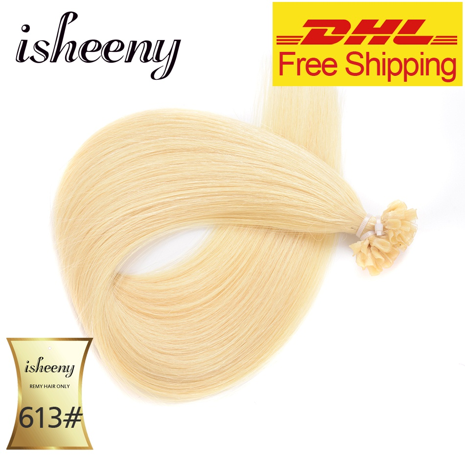 Isheeny Remy Fusion Extensions Flokët 1g / copë 20