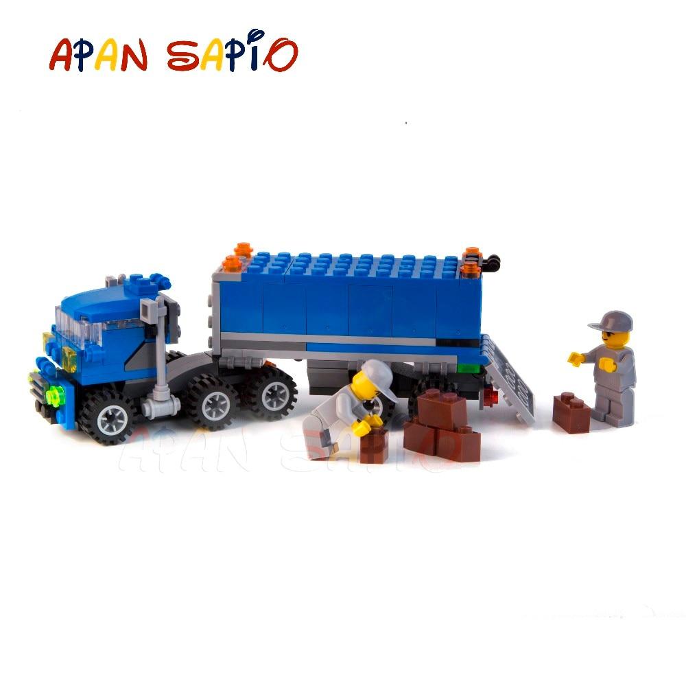 Model Building Apan Sapio Fire Engine Truck City Model Building Blocks Car Compatible With Legoe Educational Toys For Children Birthday Present