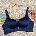 Ropa Interior Atractiva de Las Mujeres bras reunir ajustable más el tamaño de Una sola pieza 46BC 105BC sin bordes de la ropa interior de las mujeres