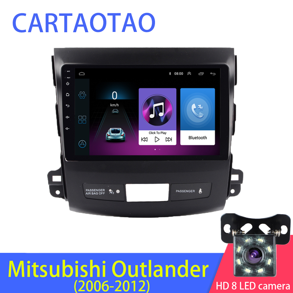 2 5D 2din Android Car Radio Multimedia Player for Mitsubishi Outlander Peugeot4007 2006 2008 2009 2010