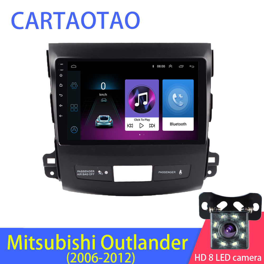 2.5D 2din Android Car Radio reproductor Multimedia para Mitsubishi Outlander/Peugeot4007 2006-2008, 2009, 2010, 2011 Navitel GPS Wi-Fi