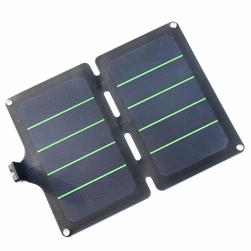 BUHESHUI 11W 5V Foldable Solar Panel Charger Super Slim Solar Cell Charger Universal Travel Solar USB Charger Free Shipping
