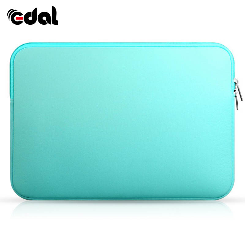 EDAL Zipper Laptop Sleeve Case For Macbook Laptop AIR PRO Retina 11 12 13 14 15 15.6 inch Notebook Bag