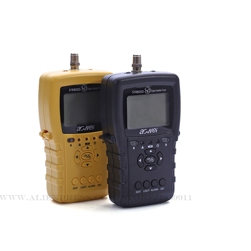 Digital Satellite Finder For Satellite TV Receiver Selectable Ku/C-band  Ultra Long Standby Low Power Consumption Meter цена 2017