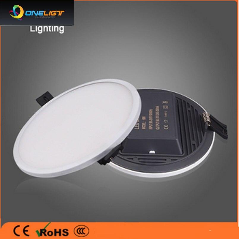 Ultra Narrow Edeg Round Square LED Panel Lights Lighting