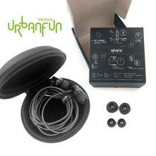 Оригинальный urbanfun 3.5 мм бериллия наушники-вкладыши BA драйвер Шум отмена в ухо наушник