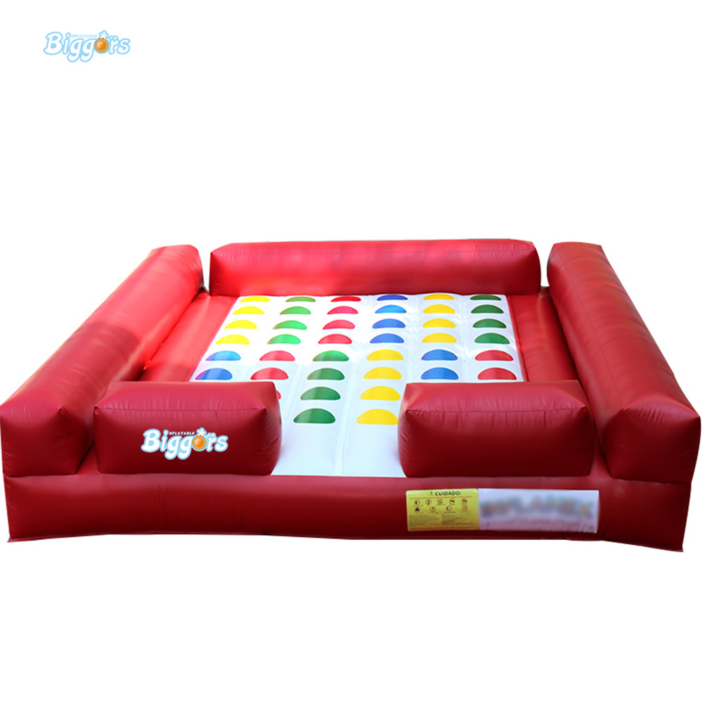 Hot Popular Multi Person Sports Games Inflatable Sports Games Twister Game For Outdoor Event цена