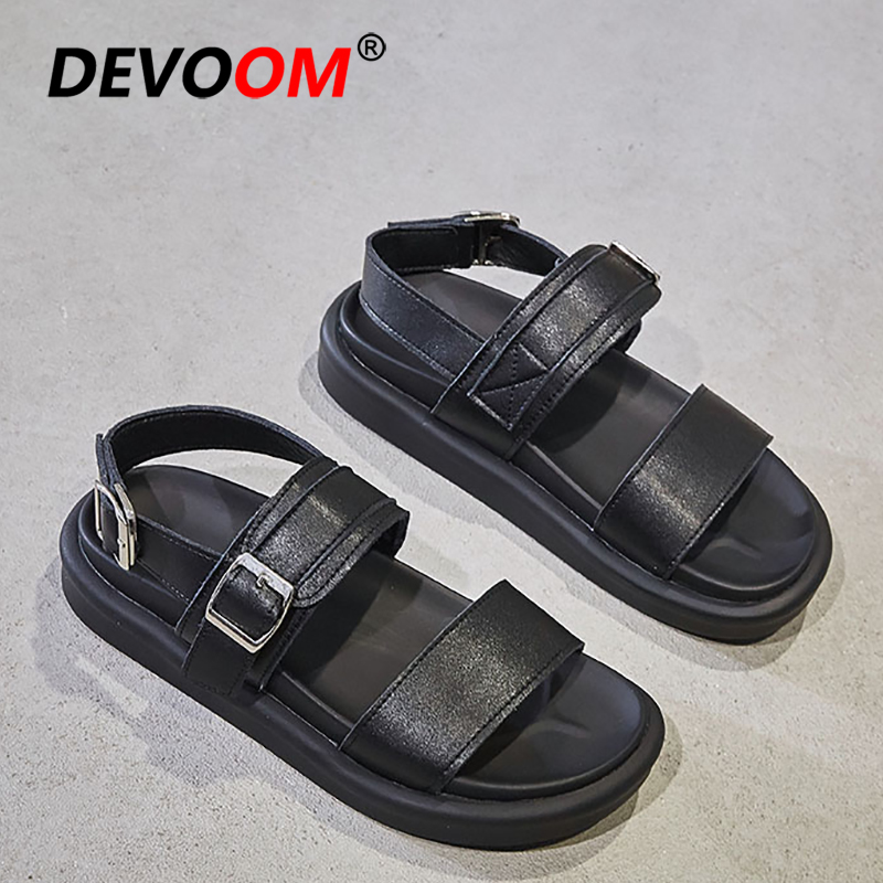2019 Summer Outdoor Sandals Women Shoes Beach Sport Trekking Sandals Women Leather Sandalias De Verano Para Mujer Sneakers Playa