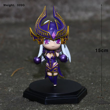14cm LOL Action Figure Toys, 2016 New LOL Figure Model For Collection, Anime Brinquedos, Fiora Orianna Riven Syndra