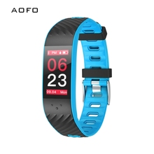 AOFO Fitness Tracker, Touch Screen Activity Health Tracker Sleep Monitor, Wireless Pedometer Smart Wristband Android iOS Phone