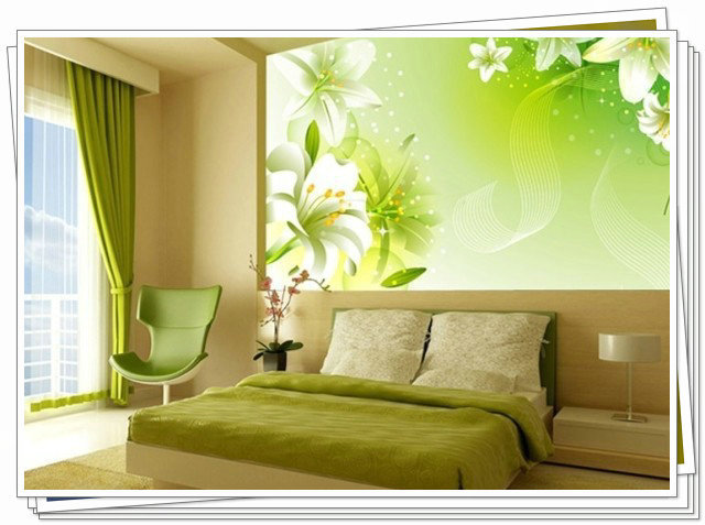 3D Wall Painting bamboo wallpaper 1 square meter wall painting wallcovering