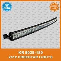 2014good feedback offroad lighting bar truck atv suv curve led light bar KR9029 180 12V 24V Bent Led work light bar curved lamps