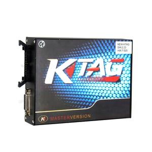Image 5 - 100% لا الرموز 7.020 KTAG K tag V7.020 V2.23 على الانترنت ماستر KTAG V7.020 K TAG ECU رقاقة ضبط لسيارة شاحنة الهدايا ECM Winols