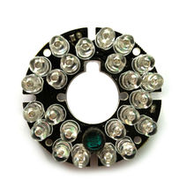 Infrared 24 IR LED board for CCTV Security Cameras Night vision (diameter 45mm)