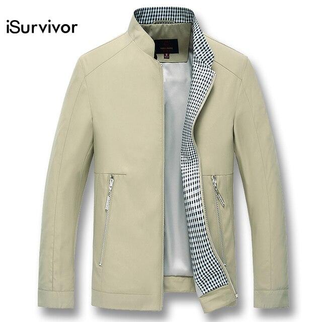 Isurvivor 2019 Men Smart Casual Businessmen Jackets Coats Jaqueta