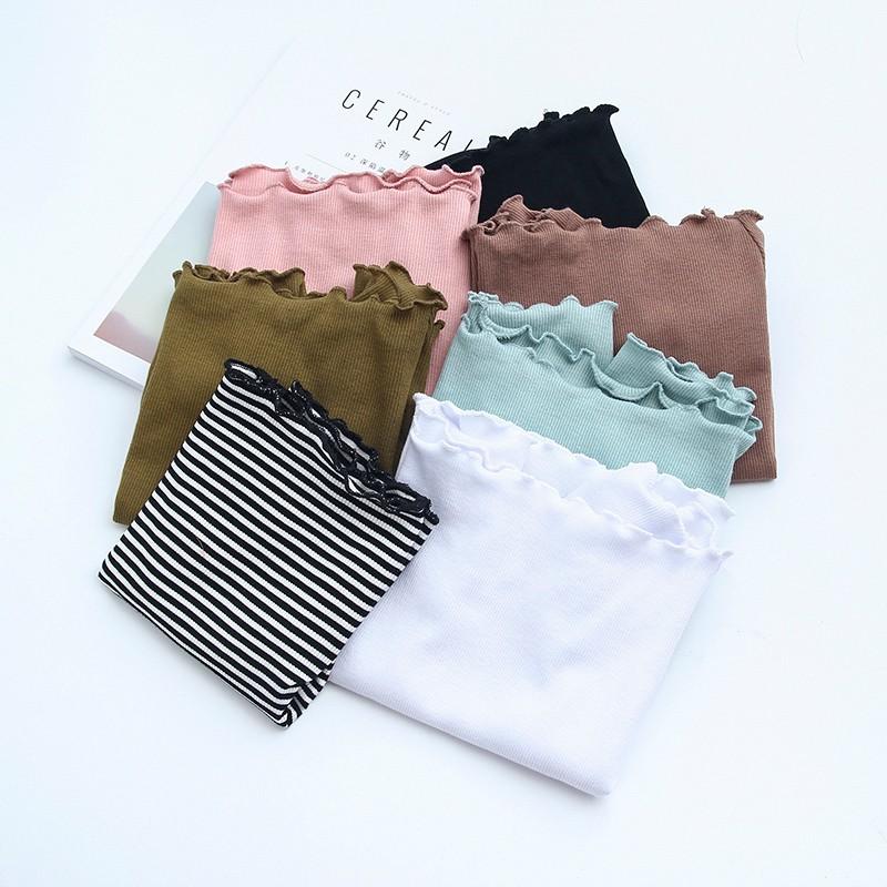 HTB1C78.OVXXXXbkaXXXq6xXFXXXL - Striped Knitted Off Shoulder Slash Neck Short Sleeve T Shirt PTC 27