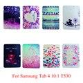 Мягкий Силиконовый ТПУ Дело Жилья Для Samsung Galaxy Tab 4 10.1 10.1-дюймовый T530 T531 T535 Задней Обложки Tablet Окрашенные Кожного Покрова Мешки Shell