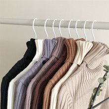 NiceMix 2019 turtlenecks women's pullover sweaters female winter rib sweater top long sleeve fashion knitwear solid office lady