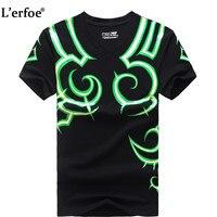 L Erfoe WOW T Shirt Man Short Sleeve Illidan Illidari Tatoo Men S Fashion Tops T
