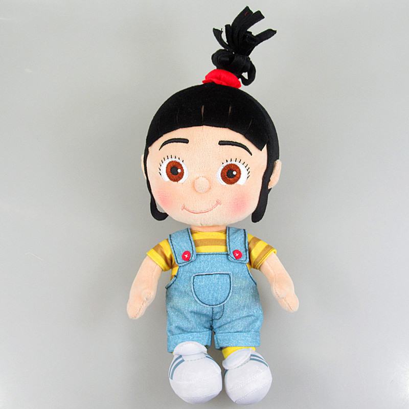 цена New Little Girls Agnes Plush Dolls Kids Stuffed Toys Children Christmas Birthday Gifts 20cm онлайн в 2017 году