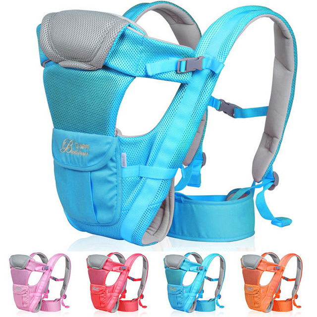 2-30 Months New Design Super breathable Multifunctional baby seat Front Facing Baby Carrier Infant Comfortable Sling baby Sling