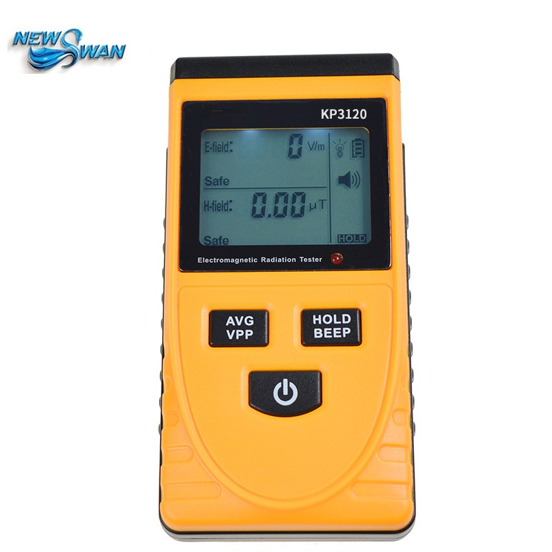 High Precision KP3120 Electromagnetic Radiation Meter Household Office Digital Equipment Phone Computer Radiation Instrument household radiation test pen electromagnetic radiation tester sound and light alarm test pen detection measuring tools