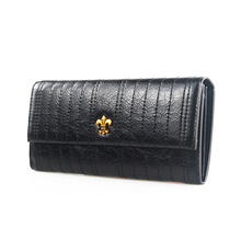 Womens Wallets and Purses Genuine Leather Long Wallet Women Fashion Solid Zipper & Hasp Clutch Wallets Money Bag Dropshipping цена и фото