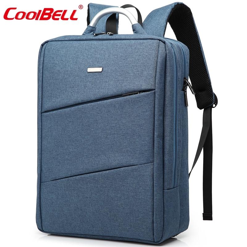 Cool Bell Men Women Laptop Backpack 14 4 15 6 inch Notebook Computer Bag Waterproof Business