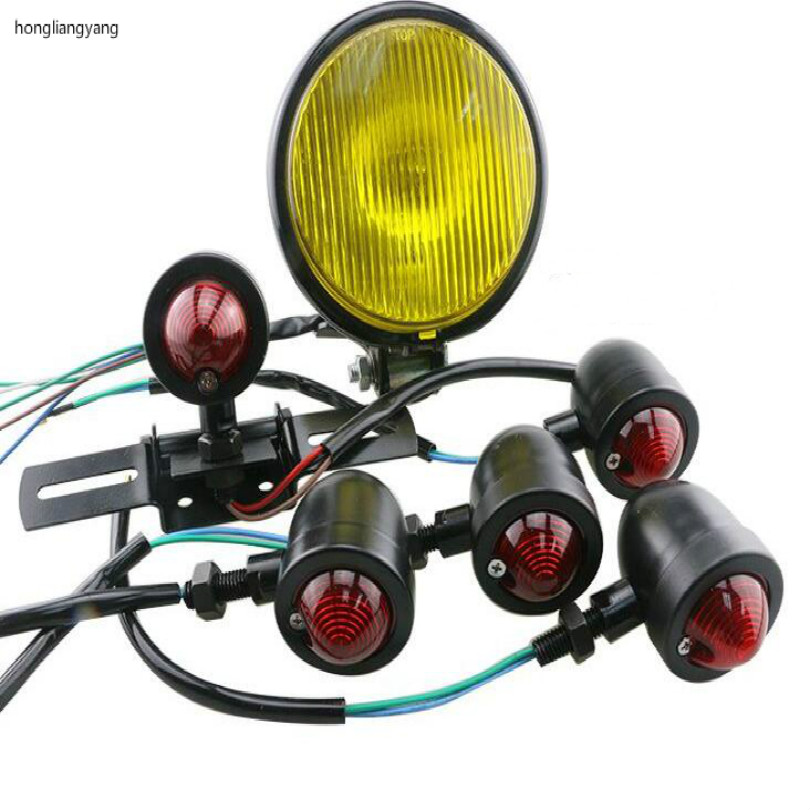 CG 125CC GN125CC retro motorcycle turn signal light warning signal light Taillight Taill light motorcycle headlight