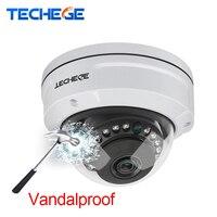 Techege H 265 5MP 2592 1944 Vandalproof IP Camera Surveillance Video Dome Camera 5MP 3MP 2MP