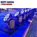 2 шт./лот проектор Led мыть движущаяся головка 12 шт 10 Вт 4в1 мойка барный светильник Сделано в Китае