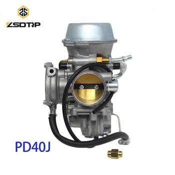 ZSDTRP PD40J 40mm Vacuum Carburetor case for POLARIS 500 universal other 400cc to 600cc racing motor UTV ATV