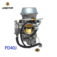 ZSDTRP PD40J 40mm Vacuum Carburetor case for POLARIS 500 universal other 400cc to 600cc racing motor UTV ATV