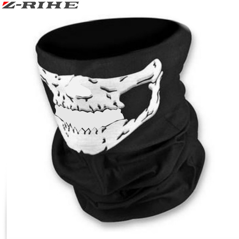 new motorcycle skull face mask outdoor sport cycling bike motorbike mask skiing snowboard neck skull mask waterproof face mask in Motorcycle Face Mask from Automobiles Motorcycles