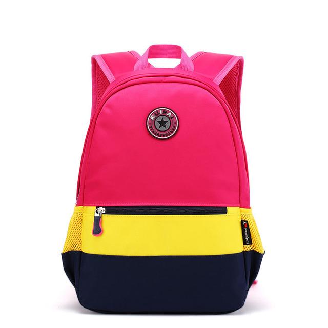 Nuevos bebés de la manera mochila 2016 mochilas de color caramelo para adolescentes middle school student book bag mochila sac a dos