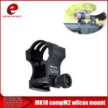 Element Hot Sale MK18 CompM2 wilcox mount Picatinny Adaptér Zbraňové taktické příslušenství EX035